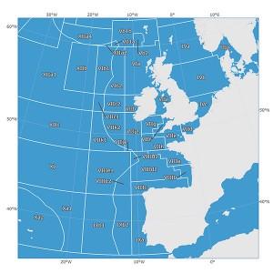 Zones de pêche FAO