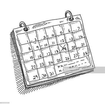 Modification calendrier des compétitions amicales