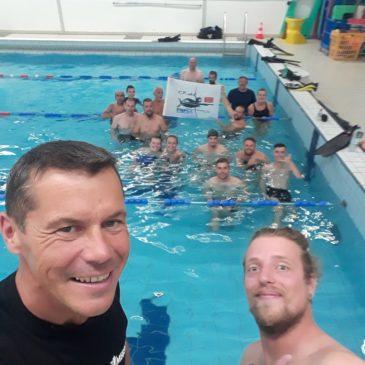 Reprise des entraînements piscine au CPAC